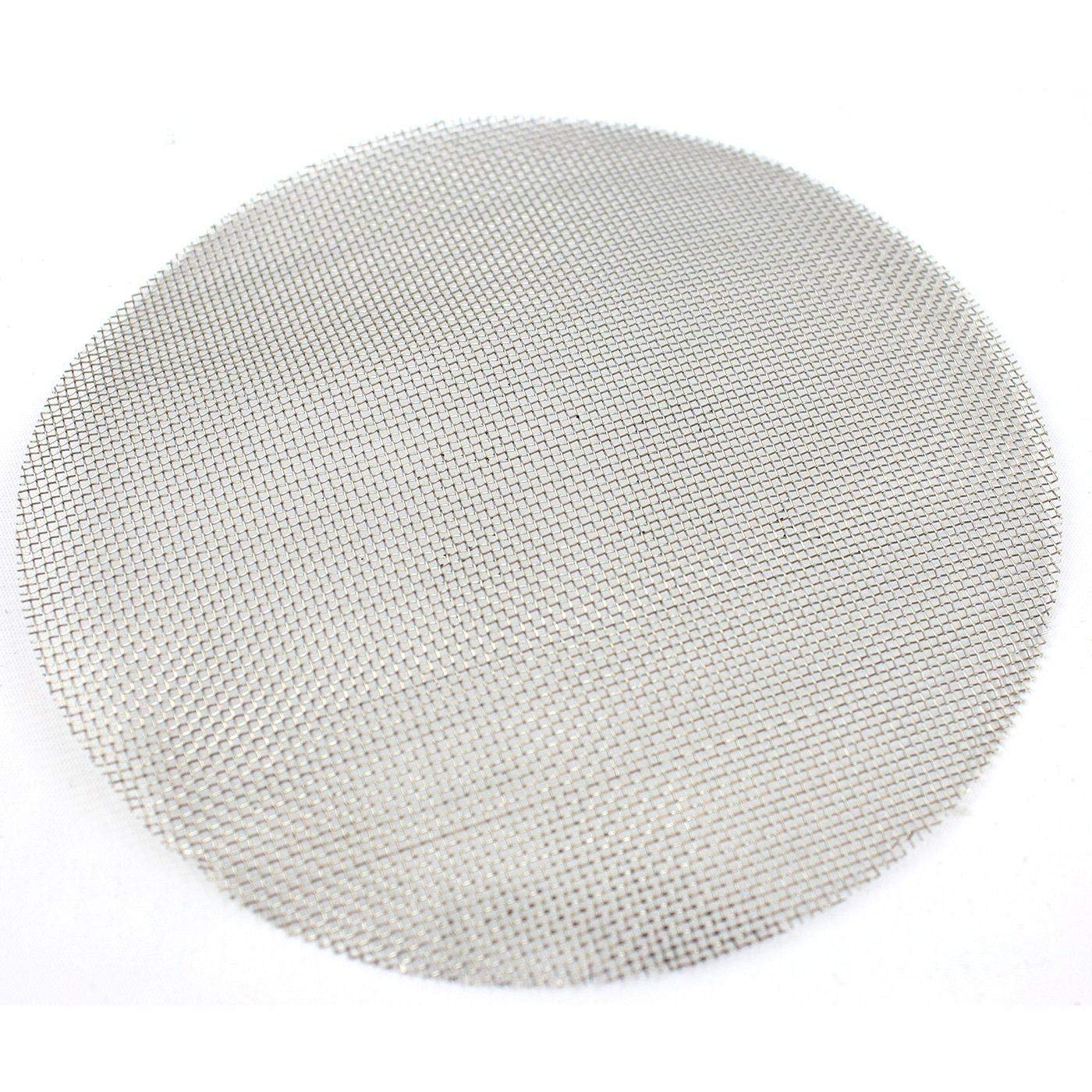 150 Micron BVV 10 Inch Pre-Cut Stainless Steel Mesh for Tri-Clamp Filter Plates 100 Mesh