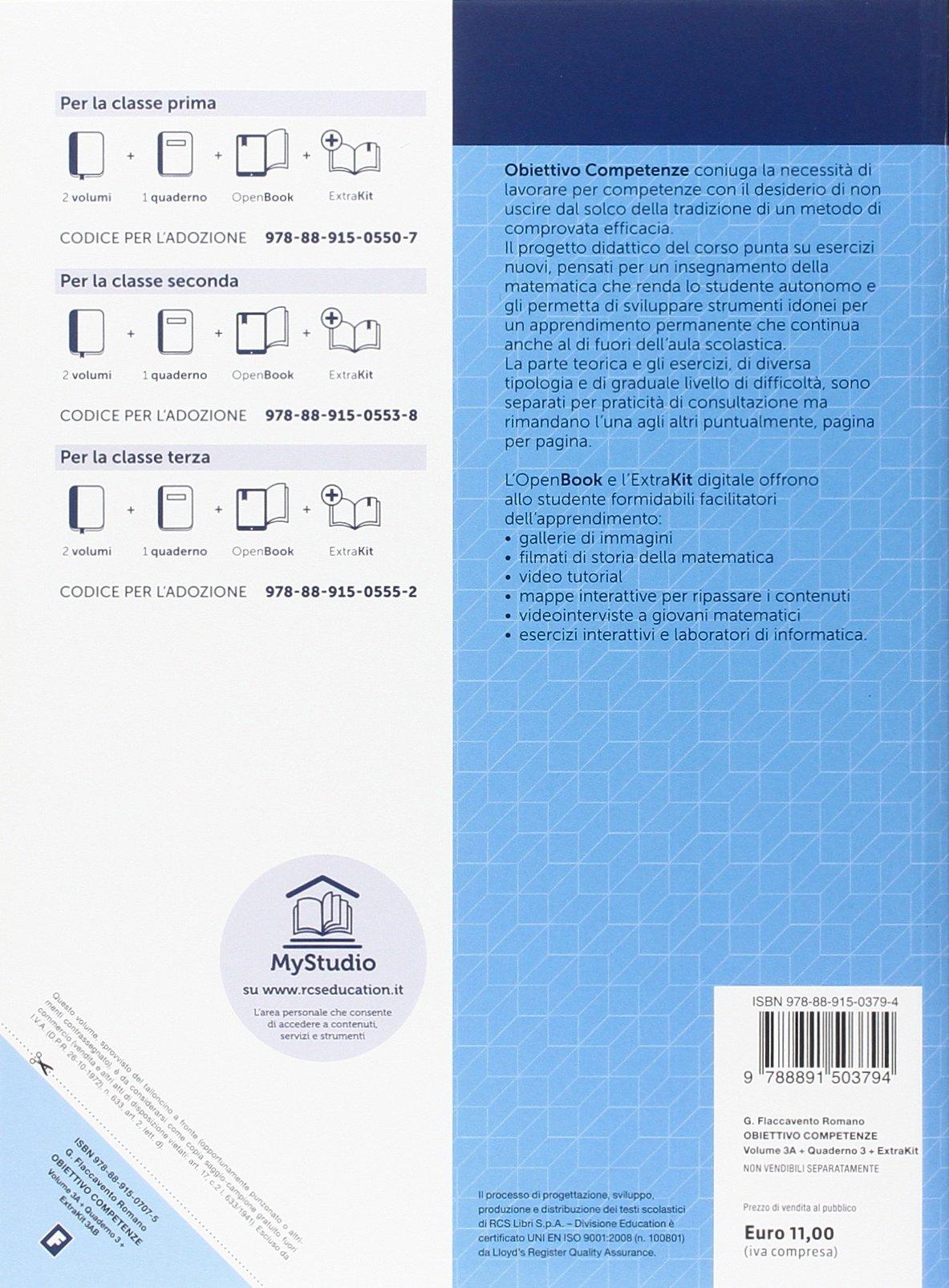 Vol. 3A-3B-Quaderno. Per la Scuola media. Con e-book. Con espansione  online: Amazon.es: Gilda Flaccavento Romano: Libros en idiomas extranjeros