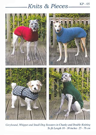 Knits and Pieces KNITS & Stück Strick & Stück Greyhound, Whippet ...