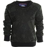 BEZLIT Boys' Blouse Plain Round Collar Long Sleeve Pullover