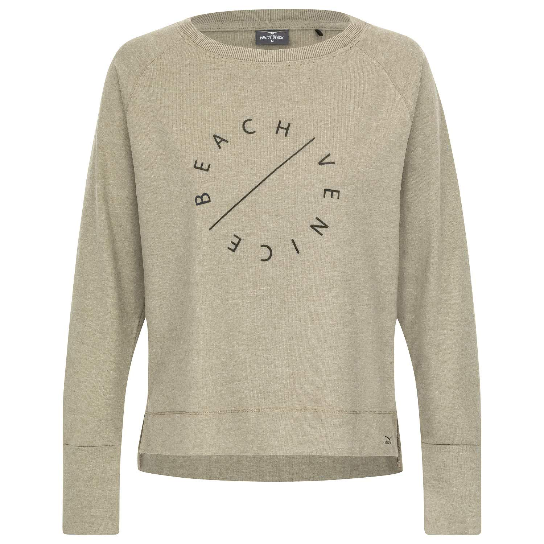 VENICE BEACH Damen Sweatshirt oliv M: : Bekleidung