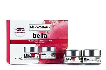 Bella Aurora Pack Minitallas Bella Día Piel Normal + Bella Noche (15Ml+15Ml) Bella Aurora 1 Unidad 100 ml, ROSA: Amazon.es
