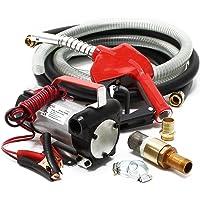Bomba autocebante para Bio Diesel y gasóleo con 12V 150W 40l/h con Pistola Maquinaria Calefacción