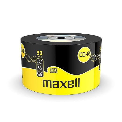 126 opinioni per Maxell CD-R 80- Confezione da 50