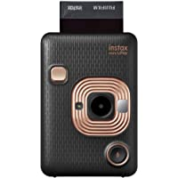 Instax Mini Liplay Hybrid Instant Camera - Elegant Black