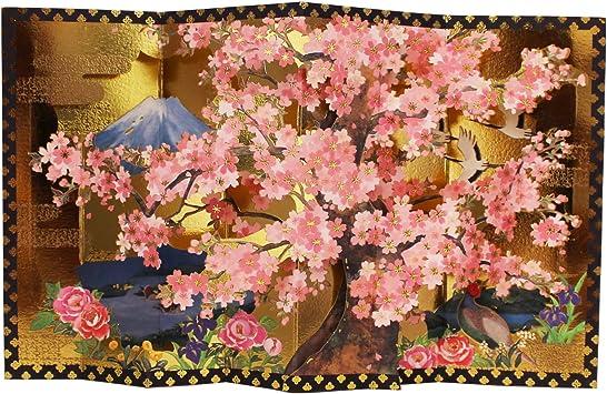 Amazon Com Decorative Gold Folding Cherry Blossom Tree Pop Up