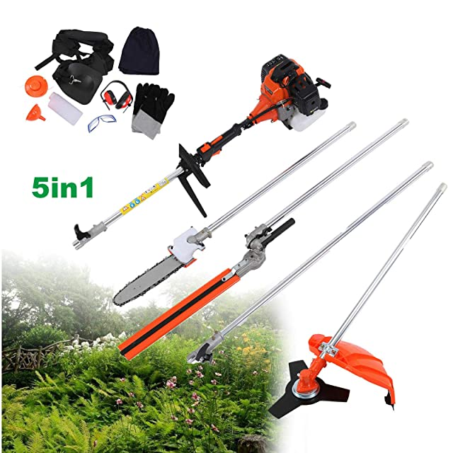 TryE 52cc 5 in 1 Chainsaw Brush Cutter