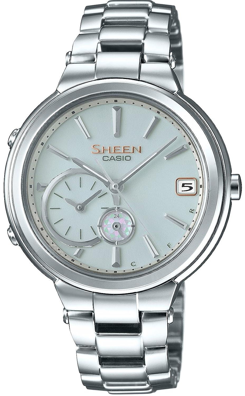 [カシオ]CASIO 腕時計 SHEEN Voyage TIME RING Series スマートフォンリンクモデル SHB-200D-7AJF レディース B01L0UW7F4
