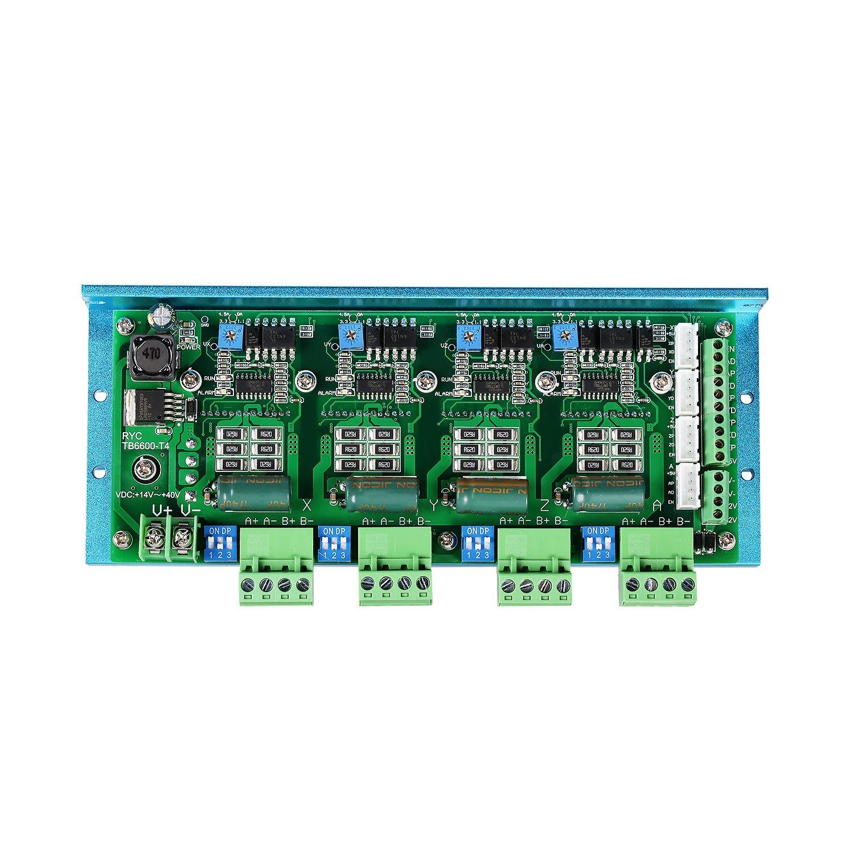 SainSmart 4 Axis TB6600 T4 Stepper Motor Driver Board CNC Controller for NEMA17 NEMA23 Stepper Motor