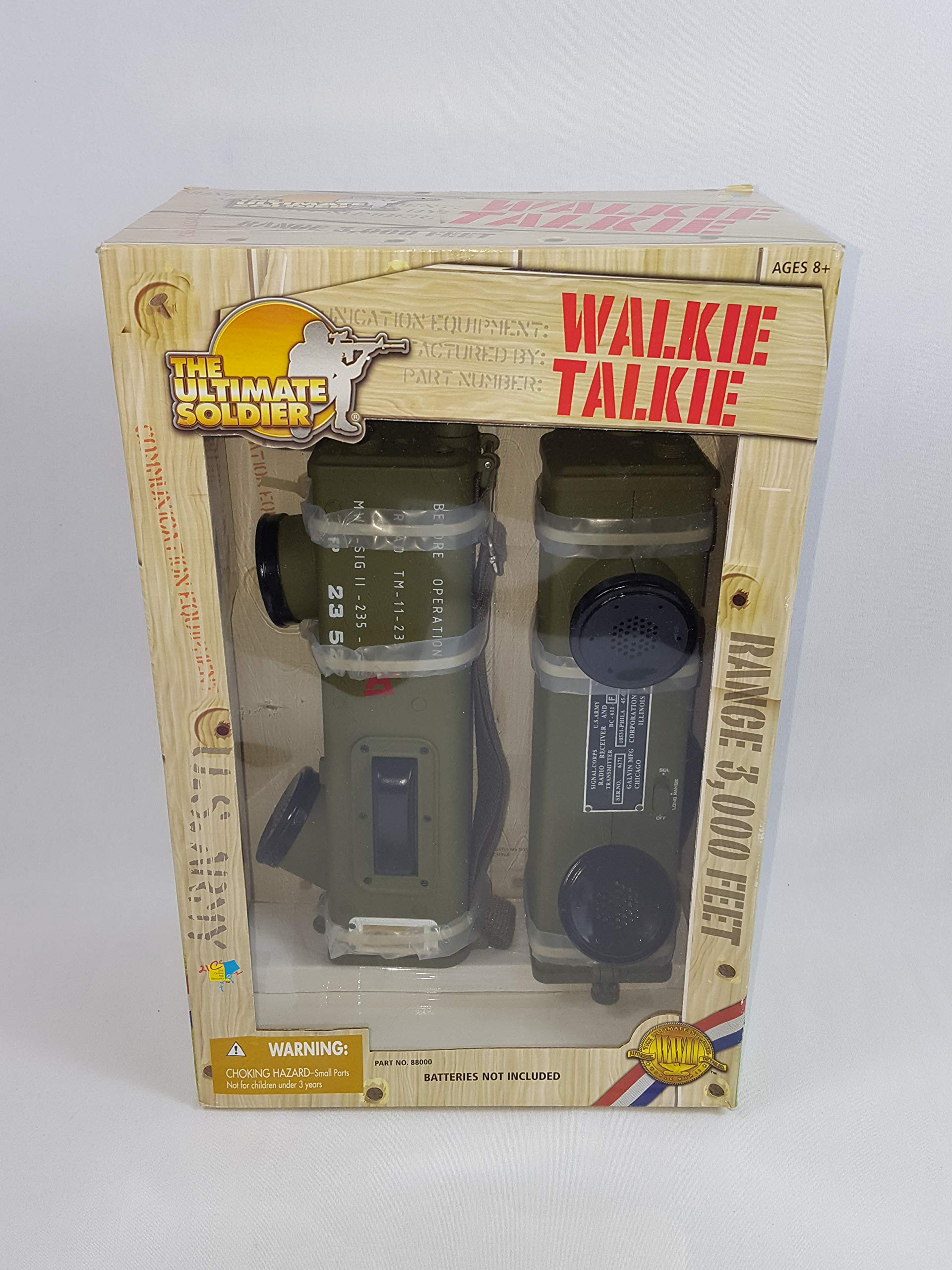 21st Century Toys The Ultimate Soldier Walkie Talkie 2002 by 21st Century Toys (Image #1)