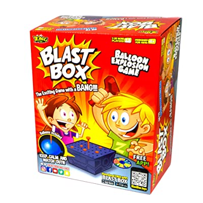 Zing Blast Box Game: Toys & Games