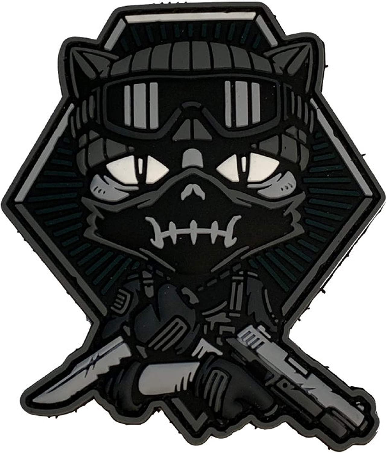 TACOPSGEAR TactiCat Opurrators #2 Rubber Patch 3D