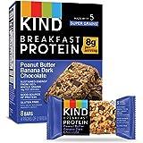 KIND Breakfast Protein Bars, Peanut Butter Banana, Gluten Free, Non GMO, 1.76oz, 32 Count