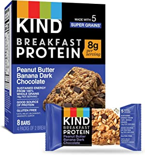 product image for KIND Breakfast Protein Bars, Gluten Free, Non GMO, 1.76 Oz, Peanut Butter Banana, 32 Count
