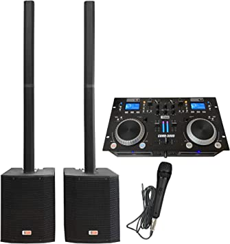 Amazon.com: Sistema DJ - Mezclador de audio, Bluetooth ...