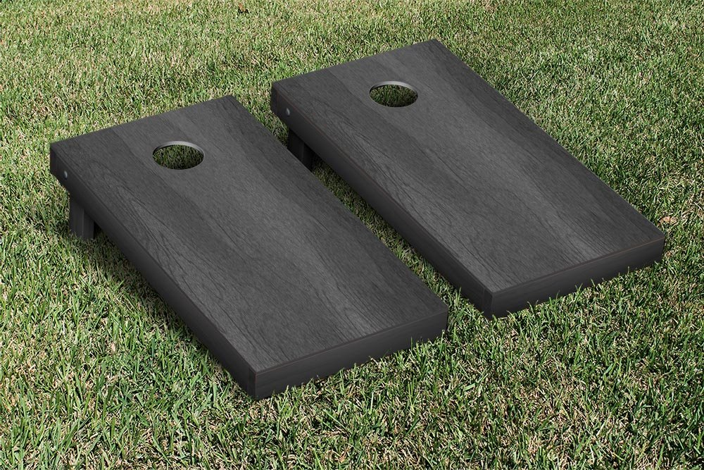 Onyx Stained Regulation Cornhole Game Set by Victory Tailgate