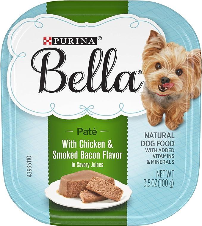 Purina Bella Single Serve Adult Wet Dog Food - The Best Wet Dog Food for Oral Care