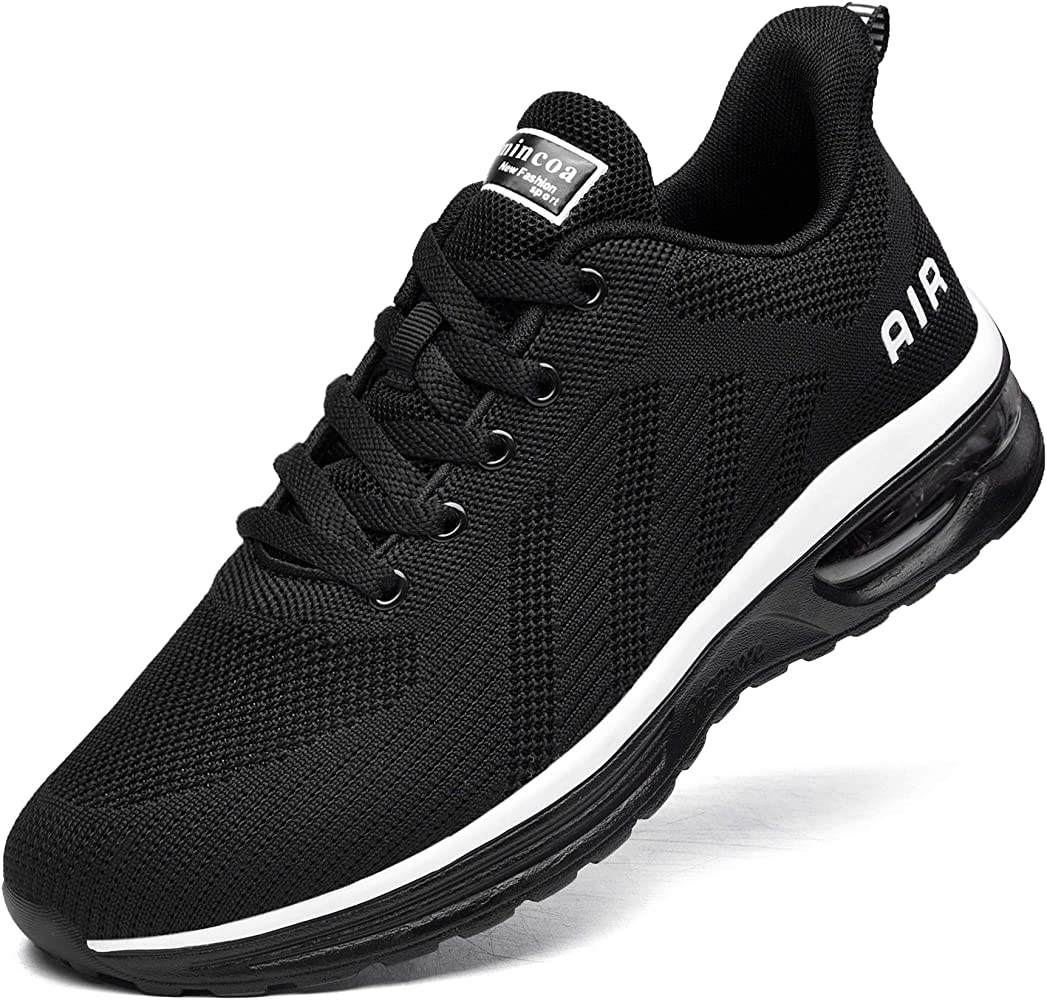 Mens Shoes Mens Comfortable Breathable Casual Air Fashion Sneakers Lightweight Athletic Tennis Walking Running Shoes Casual