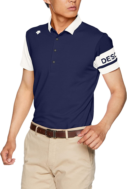 [デサントゴルフ] 半袖シャツ DGMNJA19 メンズ NV00(ネイビー) 日本 M (日本サイズM相当)