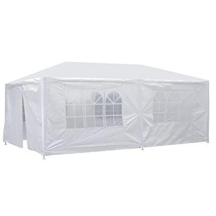 Garden Structures & Shade Waterproof Camping Patio Yard Beach Wedding Event Gazebo Awning Canopy Tent New