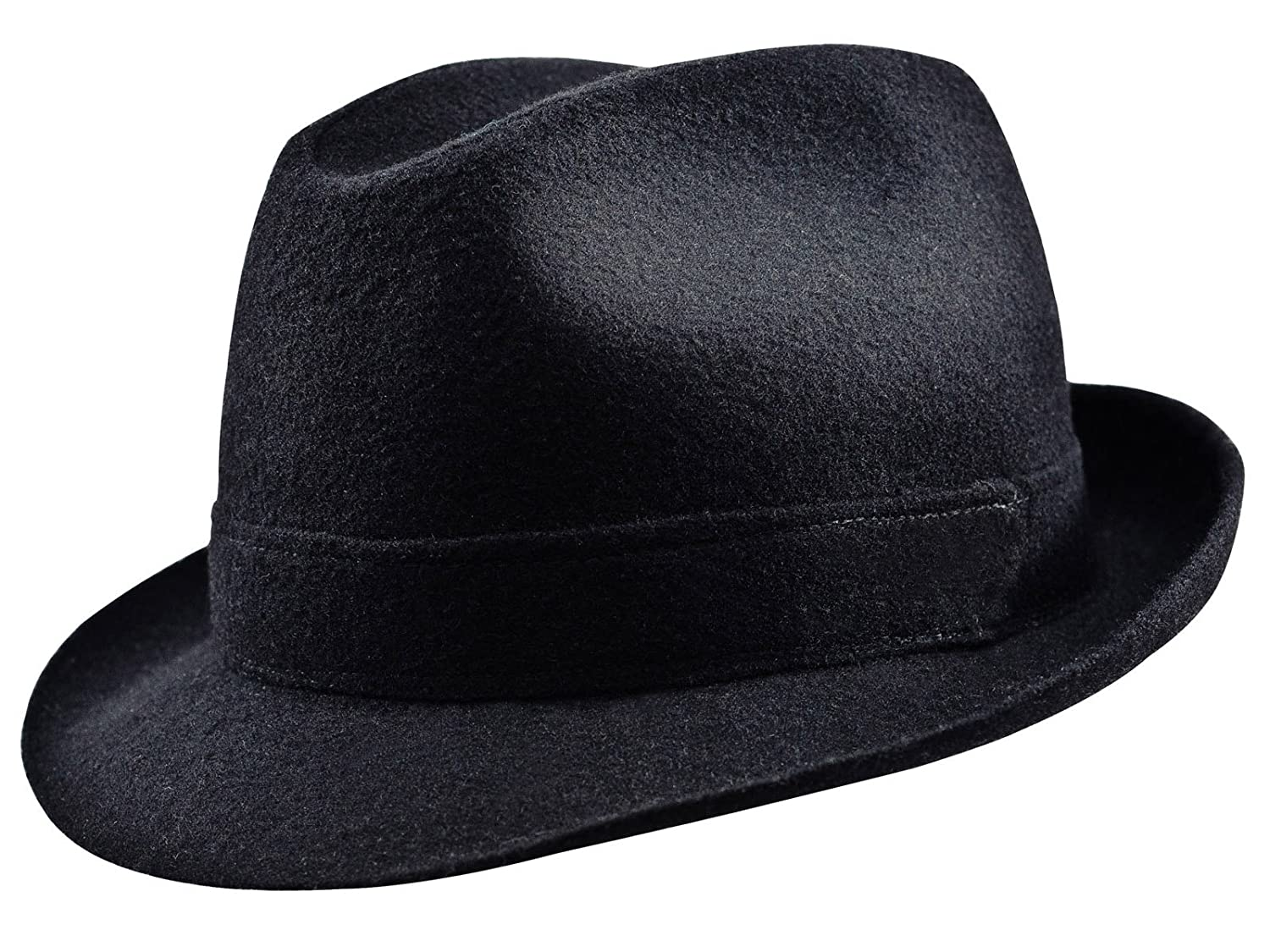 Sterkowski Woolen Sewn Trilby Hat Blues Brothers Vintage Style