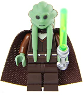 LEGO Deluxe Minfig Made from Star Wars Kit Fisto Parts (Torso Variation)