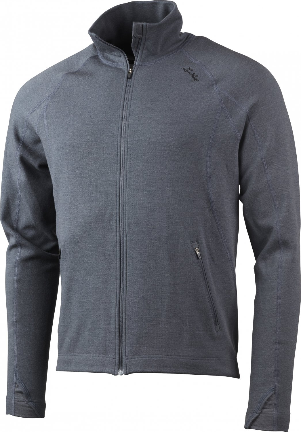 Lundhags Merino MS Full Zip granite