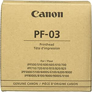 Canon Print Head PF-03 - Cartucho de Tinta: Amazon.es: Oficina y ...