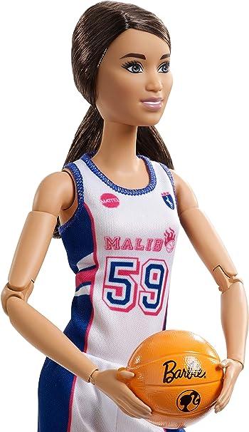 Amazon.es: Barbie Fashionista Made To Move, muñeca jugadora de ...