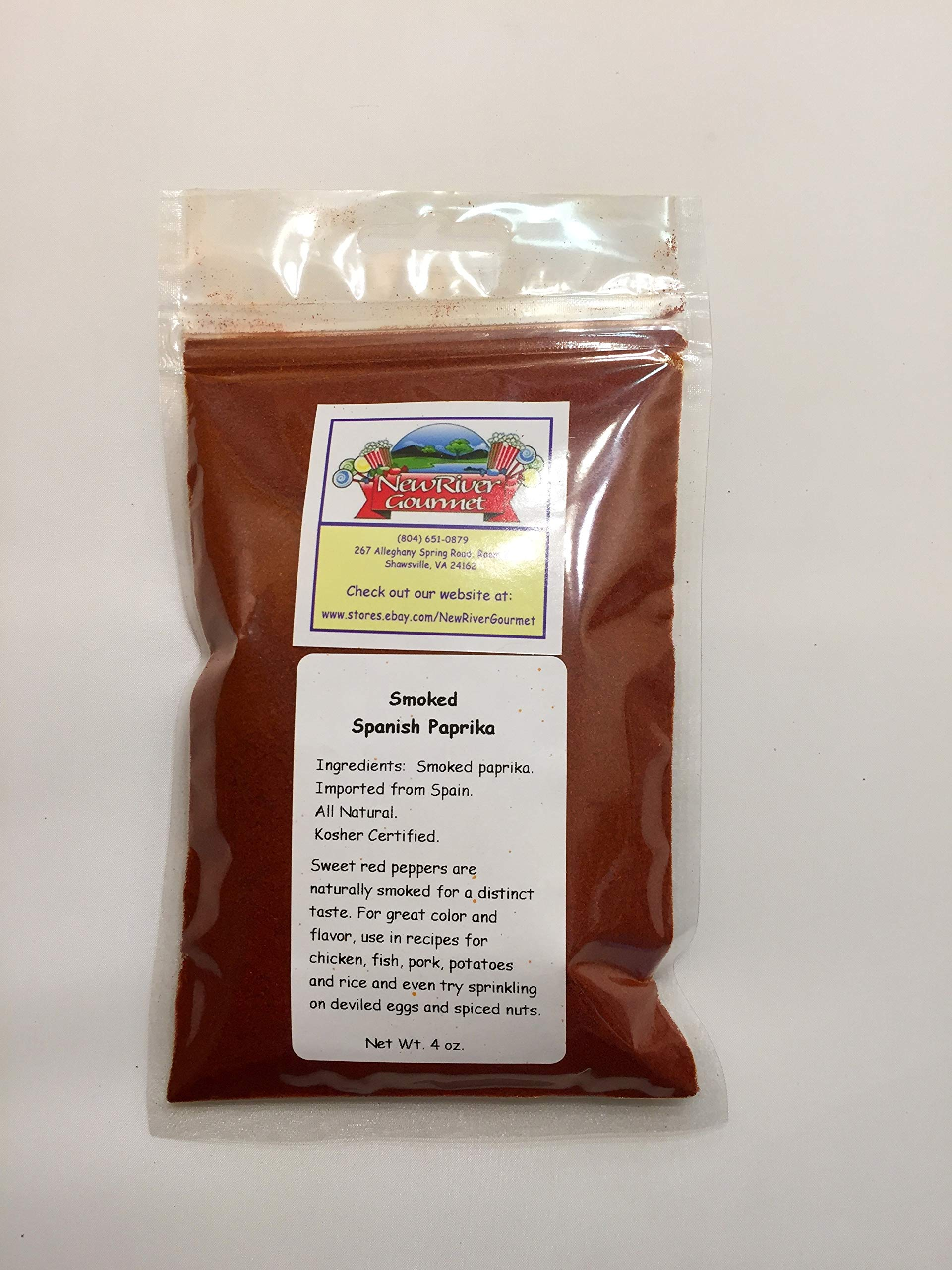 Smoked Spanish Paprika, Imported from Spain (4 ounces)
