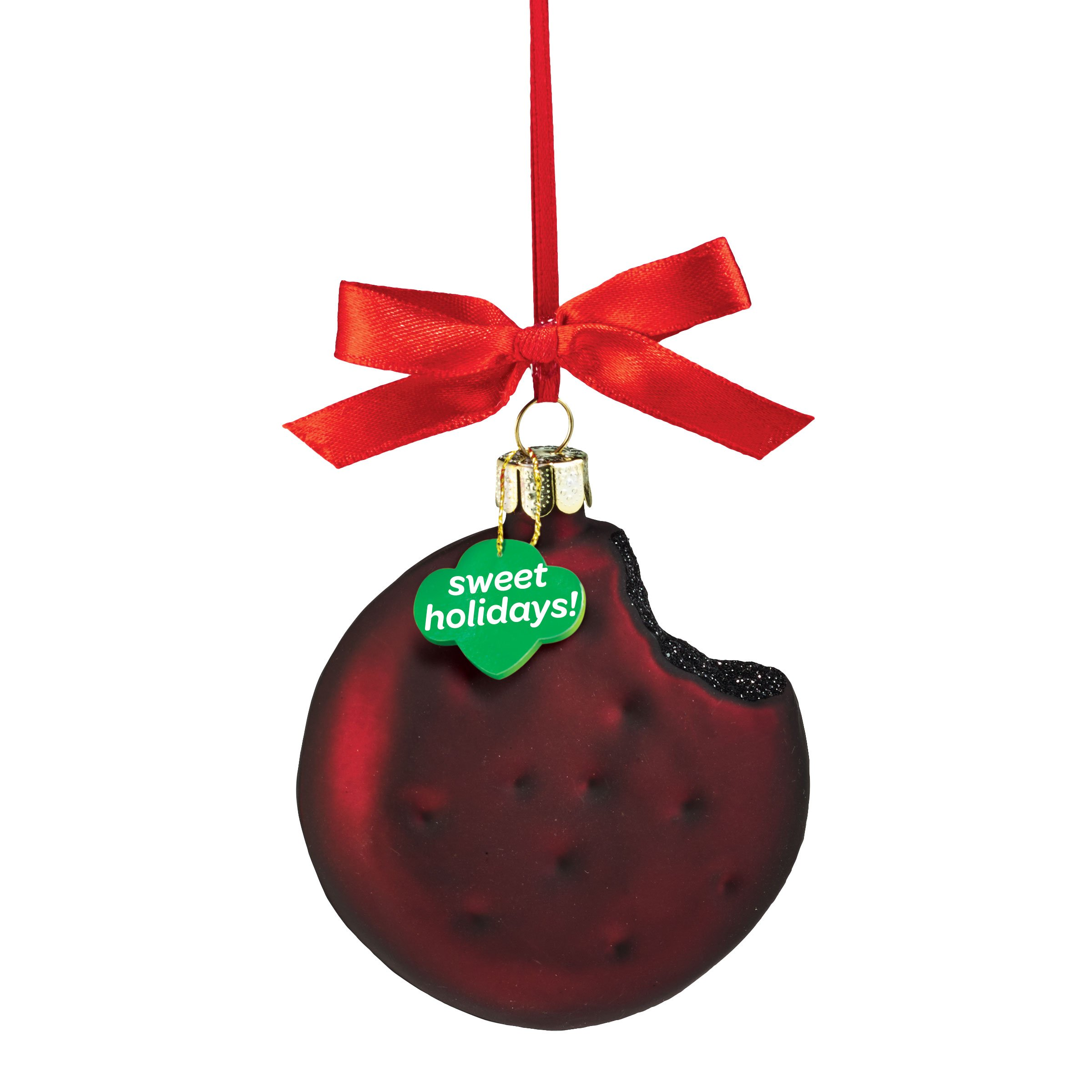 Department 56 Girl Scouts of America Thin Mints Cookie Ornament, 3.38''