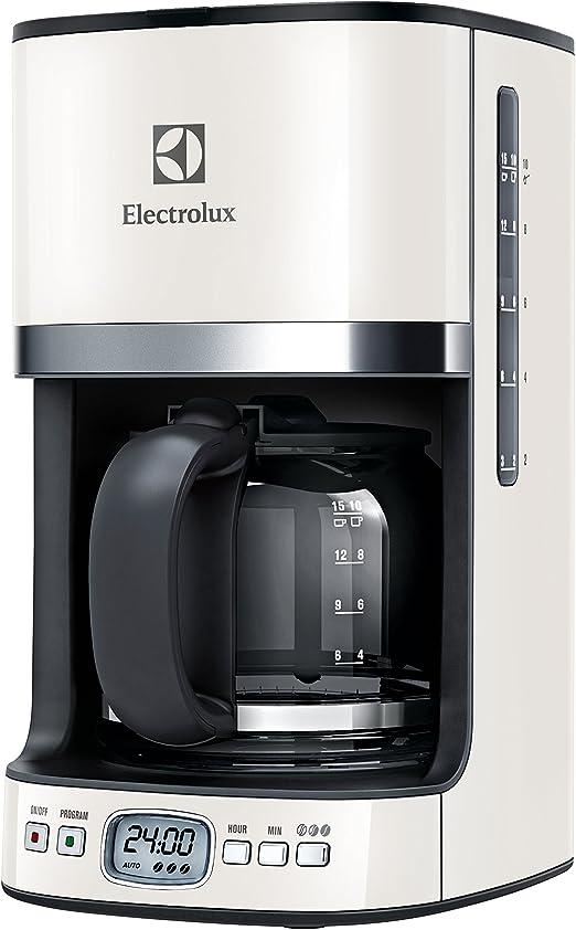 Electrolux EKF7500W - Cafetera en acero inoxidable, color beige ...