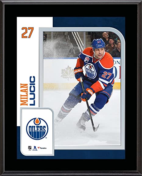 Image Unavailable. Image not available for. Color  Milan Lucic Edmonton  Oilers ... eac557ea1