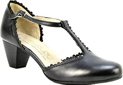 OGSwideshoes Luciana Black Extra Wide