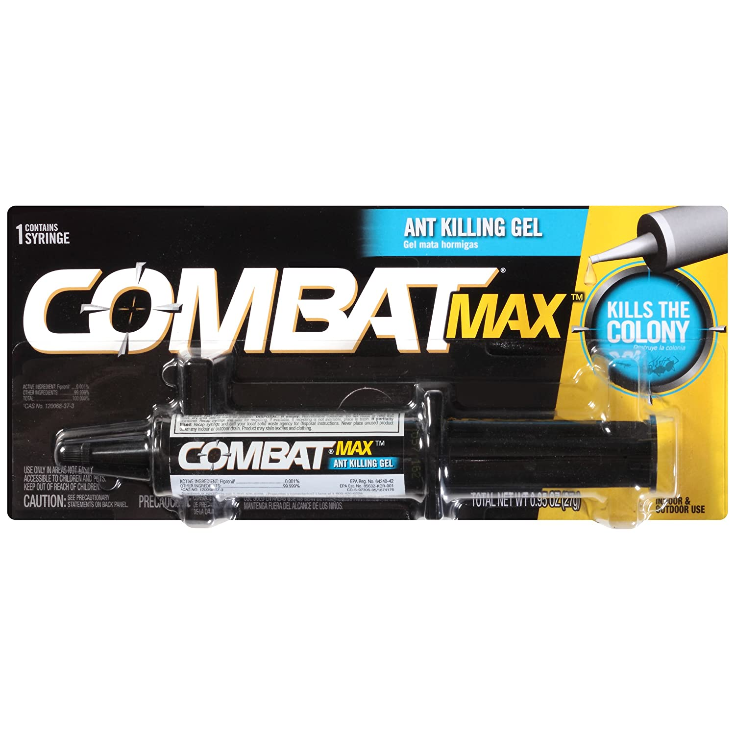 Combat Max, Ant Killing Gel, 27 Grams Dial Corporation 10023400973061