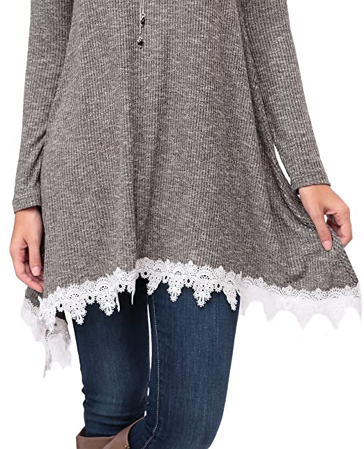 972ad59cb Kranda Womens Tunic Sweater