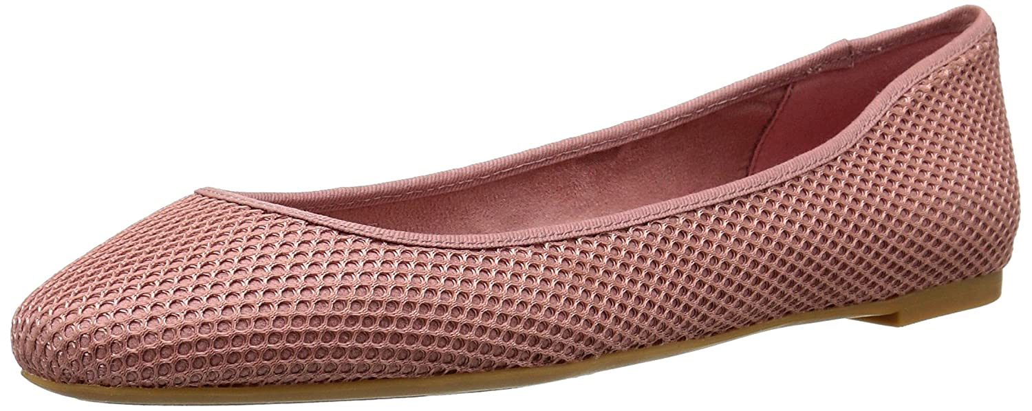 Nine West Women's Adorabl Fabric Ballet Flat B016DEQ84S 10.5 B(M) US|Light Pink/Light Pink