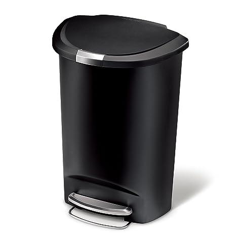 Amazoncom Simplehuman 50 Liter 13 Gallon Semi Round Kitchen Step