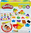 Play-Doh Academy - Colours & Shapes Activity Play Set - Creative Kids Toys - Ages 2+