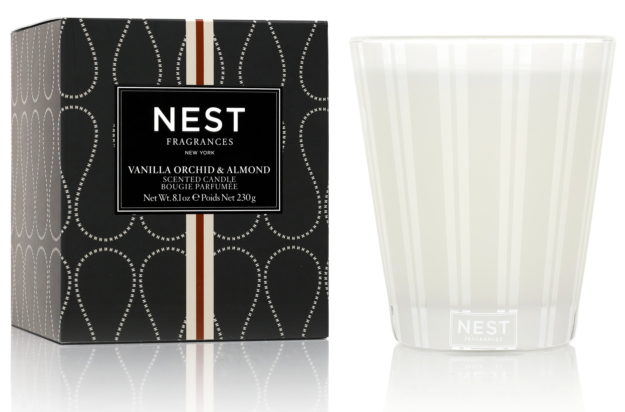 NEST Fragrances Classic Candle- Vanilla Orchid & Almond , 8.1 oz - NEST01-VO