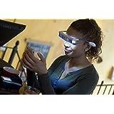 Lunette de luminothérapie LUMINETTE avec accessoires (chargeur + étui). Certifié CE medical classe II