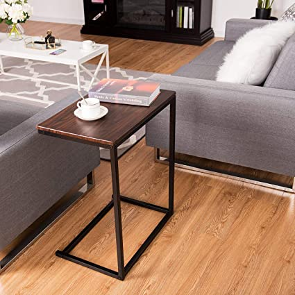Pleasant Amazon Com Slide Under Couch Table Sofa Side End Table C Gmtry Best Dining Table And Chair Ideas Images Gmtryco