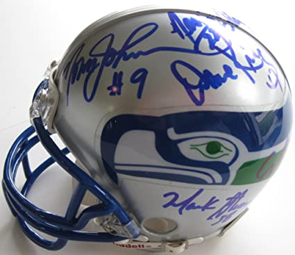 bed068041 Image Unavailable. Image not available for. Color: Seattle Seahawks,  Legends, Signed, Autographed ...