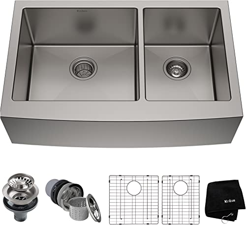 Kraus KHF203-33 Standart PRO Kitchen Stainless Steel Sink