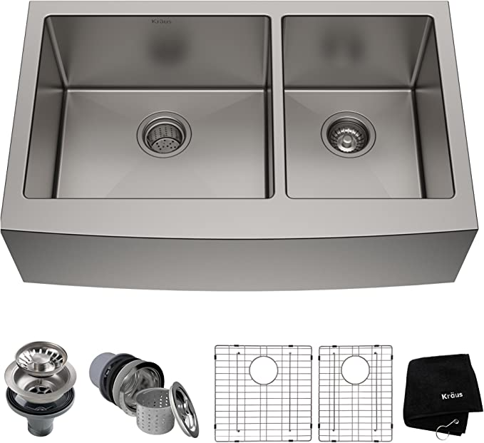 Best Farmhouse Sink: Kraus KHF203-36 Standart Pro