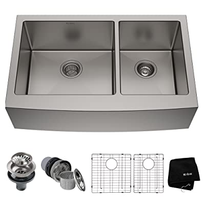 Kraus KHF203-46 Farmhouse Apron Kitchen Sink