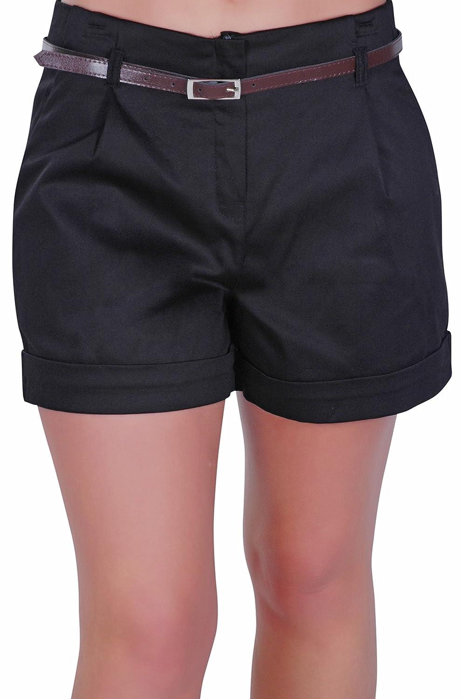 Msm cargo tracking - Eyecatch Cuba Ladies Belted Shorts Womens Smart Turn Up Hot Pants Sizes 10 20 Amazon Co Uk Clothing