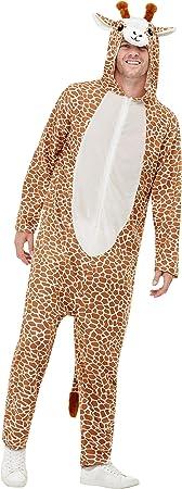 Smiffys 50713XL - Disfraz de jirafa para adulto, unisex, color marrón ...