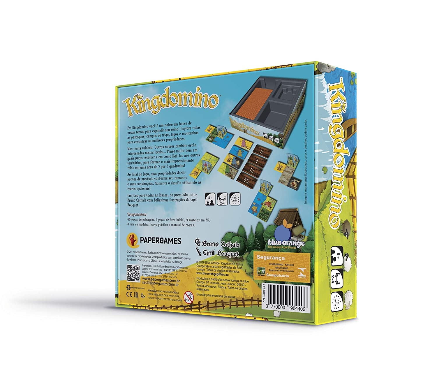 Amazon.com: Blue Orange Games Kingdomino Award Winning Family ...
