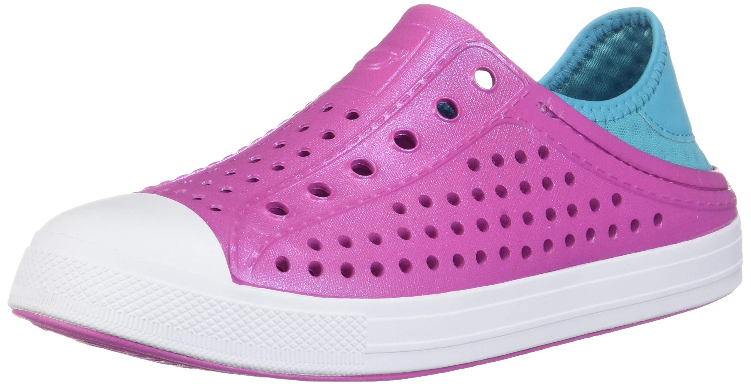 Skechers Girl's, Guzman Steps Slip on Shoes Pink 4 M